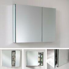 "Fresca Mirrored Bathroom Medicine Cabinet 26"" H X 29.5"" W (New)"
