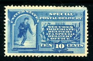 USAstamps Unused XF US 1885 Special Delivery Scott E1 NG