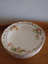 Vintage 5 x TRADEMARK Table Ware ENGLAND Gilded Floral Detail Bowls FREE POSTAGE