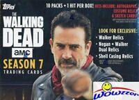 2017 Topps The Walking Dead Season 7 SPECIAL Sealed Baster Box-Guaranteed HIT!