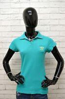 Polo Donna ADIDAS Taglia Size 46 Maglia Maglietta Camicia Shirt Woman Cotone