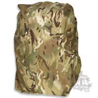 50 LITRE MEDIUM WATERPFOOF NYLON BERGEN RUCKSACK COVER MTP MULTICAM NEW