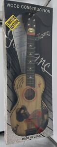Vintage Gene Autry Wooden Guitar Accoustic Singing Cowboy Western Toy