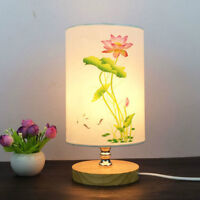 Vintage Small Lampshade Floral Bird Lamp Shade Table Ceiling Light Cover Decor