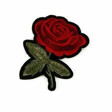 Insignia Parche De Hierro/Coser Ropa Bolsa De Tela Apliques Craft transferencia P50 solo Rose