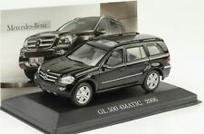 Mercedes-Benz Gl 500 4 Matic 2006 Black 1:43 ixo altaya