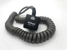 Genuine Original Nikon SC-17 Flash Sync Cord Cable