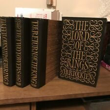 LORD OF THE RINGS Trilogy, J R R Tolkien, Limited Edition, Numbered