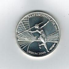 Die 10 Euro Silbermünze IAAF Leichtathletik-WM in Berlin 2009