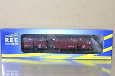 Libre Modeles wb-258 SNCF PLM COUVERT TIPO II Artículos Van Wagon Juego