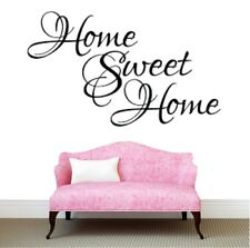 Home Sweet Home Wall Stickers Quote Art Decals Room Removable  DIY Living Room