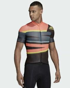 Adidas Adistar Mens Cycling Full Zip Jersey Ciclismo Shirt Size XL FJ6573 $160