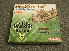 DRAGON MODELS 1:144 Panzer Corps 54cm Morser Loki & Artillery Crew #5 BRAND NEW
