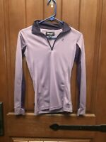 Horze Purple Grape Juice Trista Sun Shirt Size 2