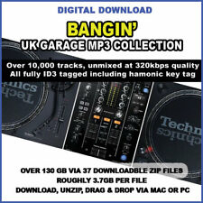 UK Garage MP3 10,000 Bangin' TRACK COLLECTION 320KBPS - 130GB Music