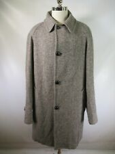 E7013 VTG Pendleton Virgin Wool Coat Made in USA Size 44