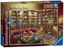 RAVENSBURGER PUZZLE*1000 TEILE*EDUARD*THE READING ROOM*RARITÄT*NEU+OVP