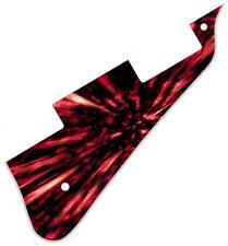 Pickguard Pick Guard Graphical Scratchplate Gibson Les Paul Guitar Explosive Red