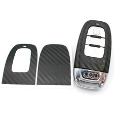 CARBON Folie Dekor Schlüssel Audi C Schlüsselhülle Schlüsselfolie A4 RS4 A5