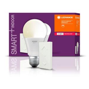Smart+ LED Zigbee Lampe A60 9W = 60W E27 806lm warmweiß dimmbar Schalter UVP 24€