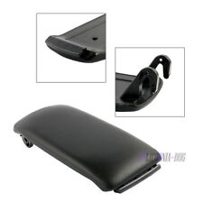 Leather Armrest Center Console Lid Cover for 2000-2006 Audi A4 S4 A6 S6 Black
