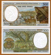 Central African Republic, States, 500 Francs, 1999, P-301Ff, UNC