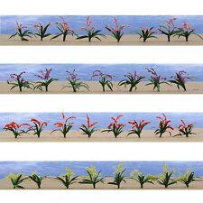"""JTT Scenery Flower Plants O-Scale 3/4"""" High, 30/pk, 4/pk 95549"""