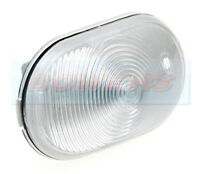 JOKON WHITE CLEAR FRONT MARKER LAMP LIGHT FOR ELDDIS COMPASS SUNSEEKER MOTORHOME