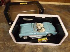 Bburago Corvette 1957 Chevrolet 1:18 Scale Die Cast Burago