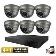 8Ch Hdtvi Dvr 1080P 4-in-1 Ahd 2.6Mp D Menu 36Ir Cut Security Camera System