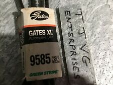 NEW GENUINE GATES  9585 BELT  XL  GREEN STRIPE