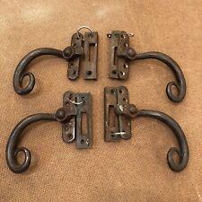 Wrought Iron Antique Door Door Handles For Sale | EBay