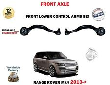 FOR RANGE ROVER MK4 2013->2X FRONT AXLE LEFT RIGHT LOWER FRONT TRACK CONTROL ARM