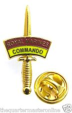 Royal Marines 43 Commando Dagger Lapel Pin Badge