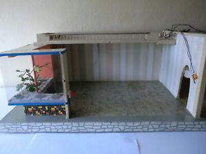 Puppenstube 2 Zimmer Panoramafenster Gottschalk 50-er Puppenhaus Erzgebirge