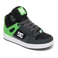 DC Youth Rebound Se High Top Skate Boots Shoes--Special