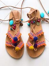 Mia Shoes greek gladiator sandals size 8