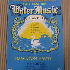 PIANOFORTE Handel la musica dell' acqua, suite, ARR. HAMILTON Harty, clutsam