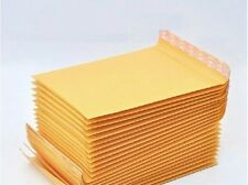 30 x Kraft Bubble Envelopes Padded Mailers Shipping Self-Seal Bags 120x160mm