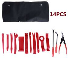 14X Car Radio Door Body Clip Panel Trim Dash Audio Plastic Removal Pry Tool Kit