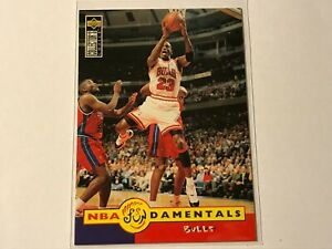 1996/97 Upper Deck Collector's Choice Michael Jordan #195 NBA Fundamentals