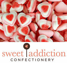 4kg Triple Gummi Hearts pink GLUTEN FREE -Perfect for Candy Buffet or Bomboniere