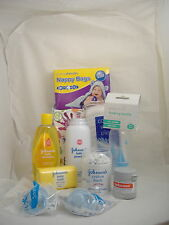 Baby New Born Starter Pack - Shampoo, Baby Powder, Cotton Buds, Baby Soap,