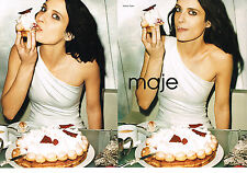 PUBLICITE ADVERTISING  2010   MAJE  haute couture  (2 pages)