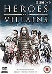 Heroes And Villains (DVD, 2008, 2-Disc Set) FREE POST IN UK