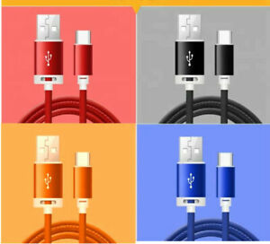 Strong PU Leather Micro USB Fast Charge Data Cable for DOOGEE Phones