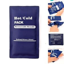 Reusable Cold Ice Hot Heat Gel NonToxic Pack Sports .Muscle Back Pain Rel Gift
