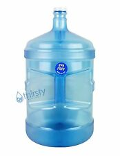 BPA Free 5 Gallon Water Bottle w/ Handle Reusable Jug Plastic Container Canteen