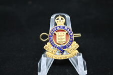 WW2 Canadian RCOC Ordnance Officers Enamel Single Collar
