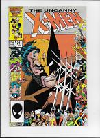 Uncanny X-Men #211 by Claremont & JR Jr Marauders Mutant Massacre Marvel 1986